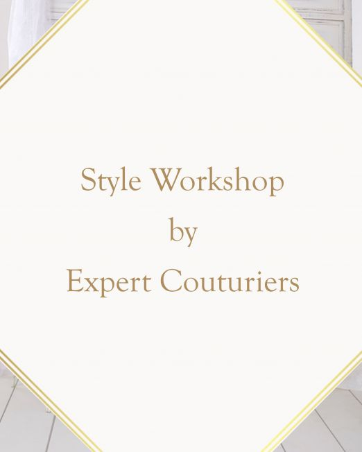 Style Workshop by Expert Couturiers