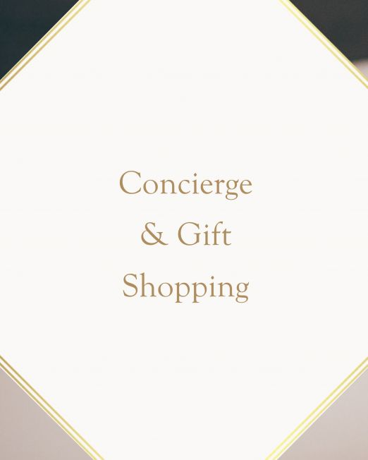 Concierge & Gift Shopping in Italy