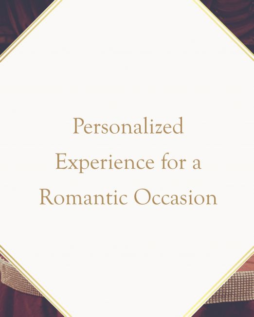 Personalized Experience for a Romantic Occasion n Italy