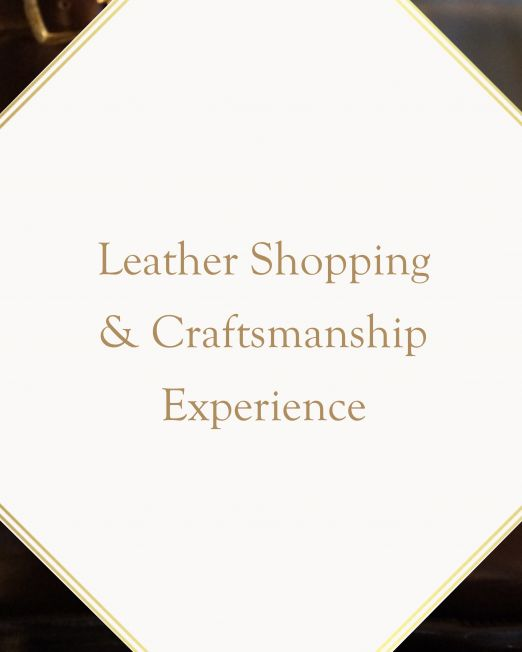Leather Shopping & Craftsmanship Experience in Florence tuscany