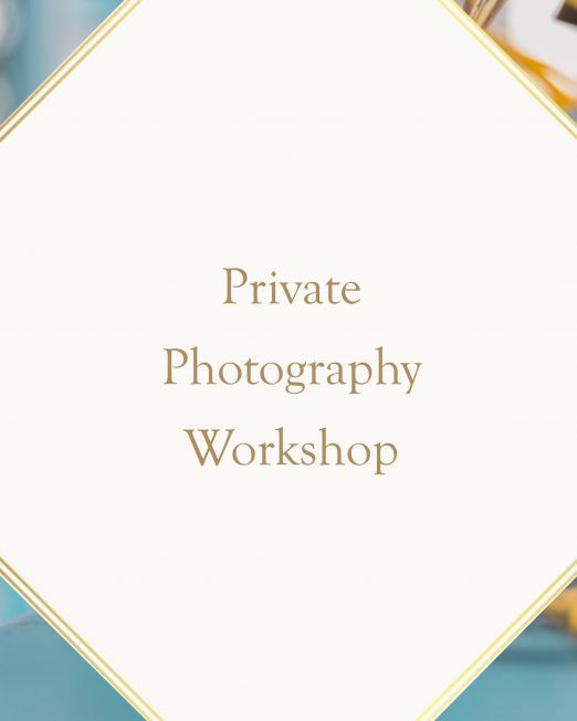 Private Photography Workshop In Italy