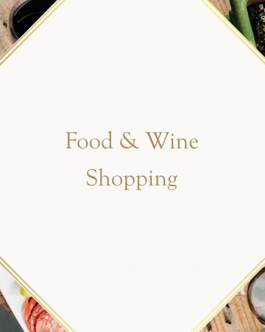 Food & Wine Shopping in Italy