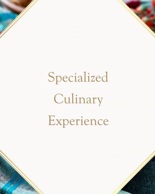 Local Italian food experience