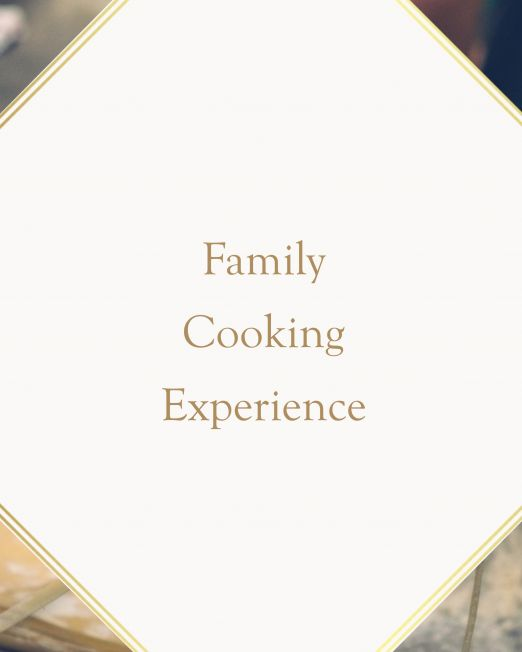workshop of Italian cooking for family