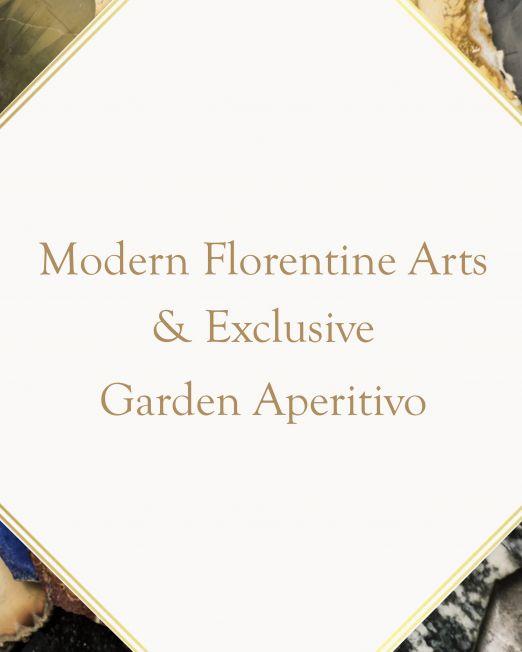 Modern Florentine Arts Experience & Exclusive Garden Aperitivo