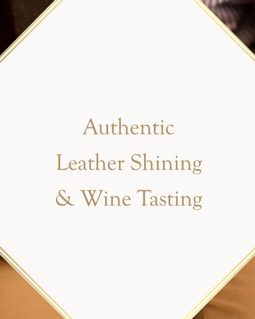 Authentic Leather Shining & Wine Tasting
