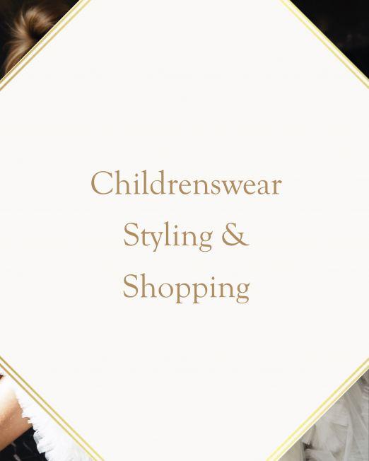 Childrenswear Styling & Shopping