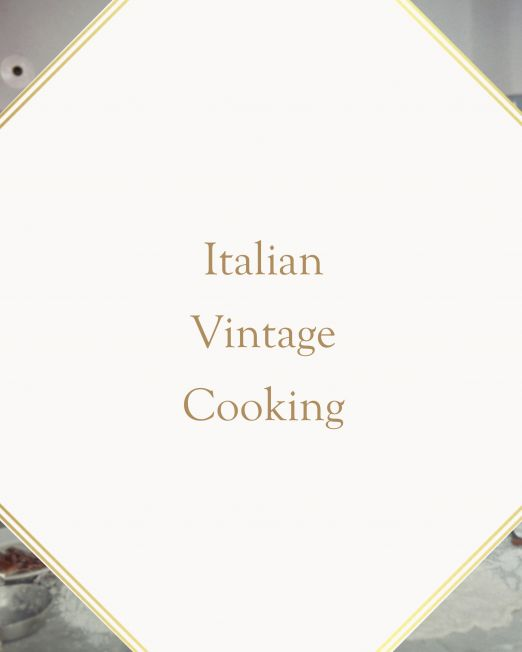 Italian Vintage Cooking