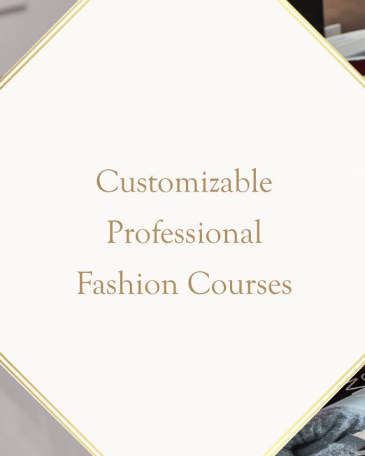 Customizable Professional Fashion Courses