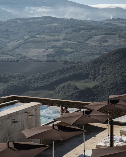 Tuscan countryside travel relax